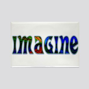 IMAGINE Rectangle Magnet