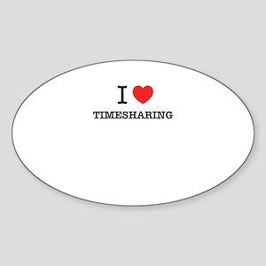 I Love TIMESHARING Sticker