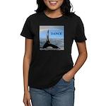 WHALE DANCER Women's Dark T-Shirt