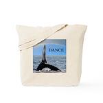 WHALE DANCER Tote Bag