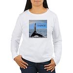 WHALE DANCER Women's Long Sleeve T-Shirt