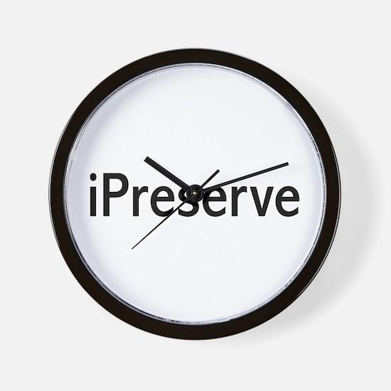 iPreserve Wall Clock