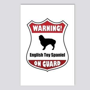Spaniel On Guard Postcards (Package of 8)