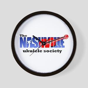 Nashville Ukulele Society Wall Clock