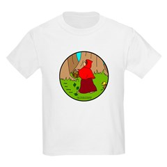 Kid's Clothes Red Riding Hood Kids T-Shirts
