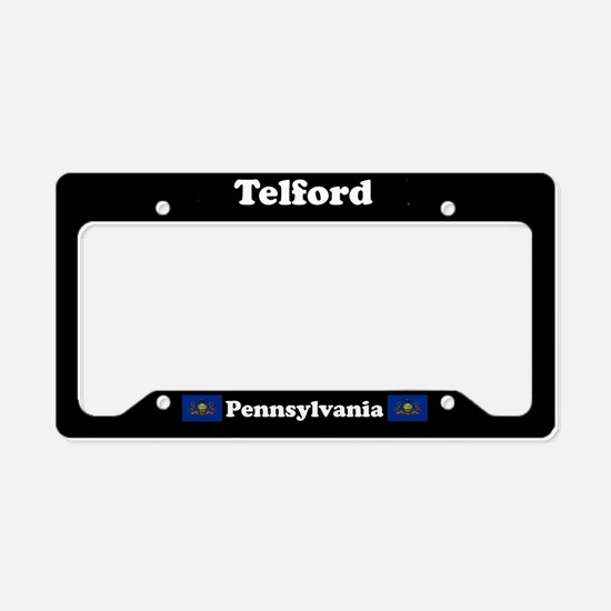 Telford PA - LPF License Plate Holder
