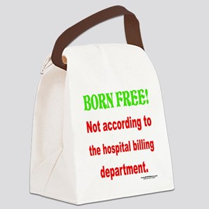 Born Free Canvas Lunch Bag