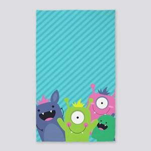 Cute Monster Area Rug