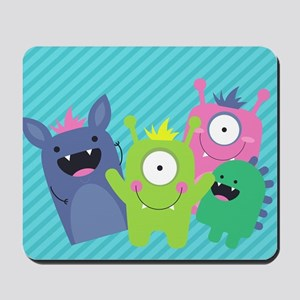 Cute Monster Mousepad