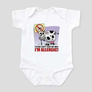 Milk Allergy Infant Bodysuit