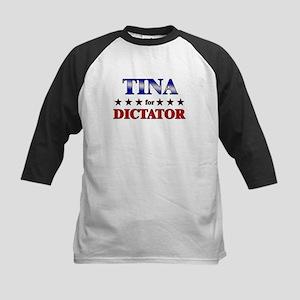 TINA for dictator Kids Baseball Jersey
