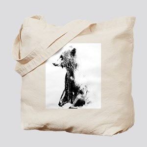 Grizzly Grandeur Tote Bag