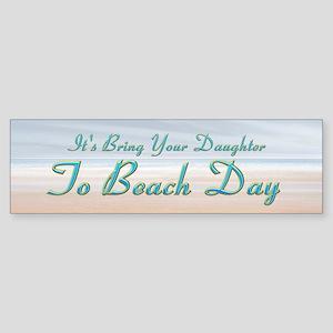 Beach Day (bumper 50 Pk) Bumper Sticker