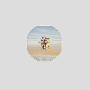 Beach Day Mini Button