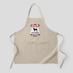 Foo Dog On Guard BBQ Apron