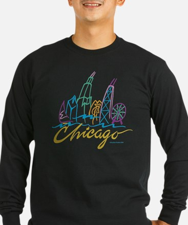 Chicago EMB-1.png Long Sleeve T-Shirt