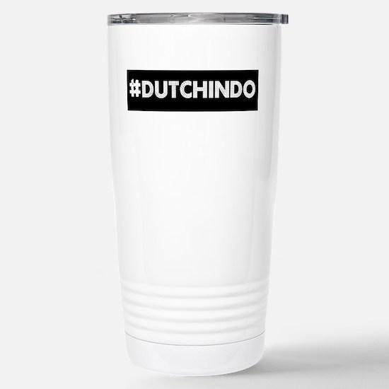 HashTAG Dutch Indo Clr Stainless Steel Travel Mug