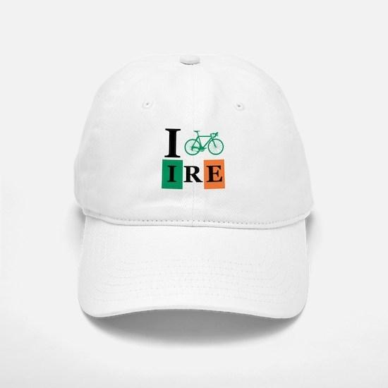 I Bike Ireland Baseball Baseball Cap