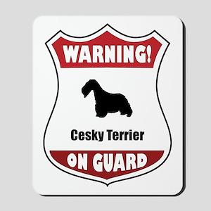Cesky On Guard Mousepad