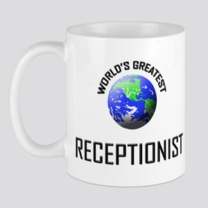 World's Greatest RECEPTIONIST Mug