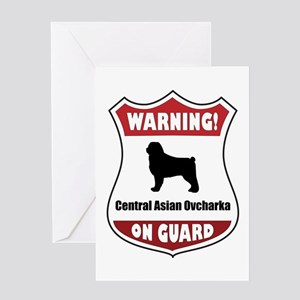 CAO On Guard Greeting Card