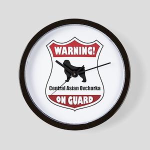 CAO On Guard Wall Clock