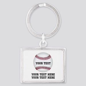 Baseball Landscape Keychain
