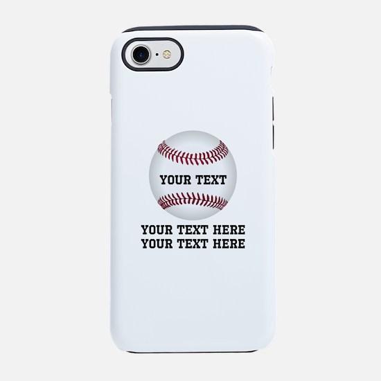 Baseball iPhone 8/7 Tough Case