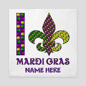 Mardi Gras Queen Duvet