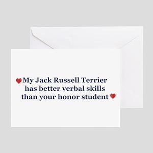 My JRT has Better Verbal Skills - Greeting Cards