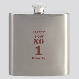 Safety is our No 1 Priority Flask