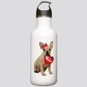 Be Mine French Bulldog Stainless Water Bottle 1.0L