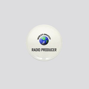 World's Greatest RADIO PRODUCER Mini Button