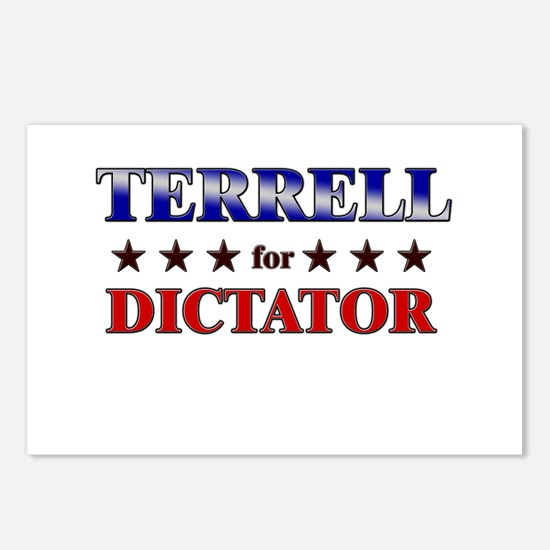 TERRELL for dictator Postcards (Package of 8)