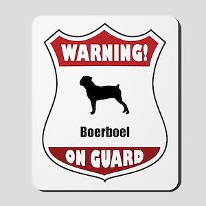 Boerboel On Guard Mousepad