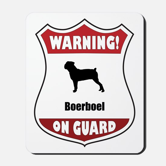Boerboel On Guard Mousepad
