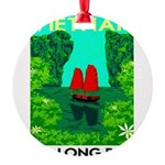 Ha Long Bay - Vietnam Print Round Ornament