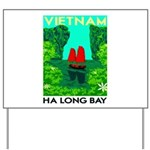 Ha Long Bay - Vietnam Print Yard Sign