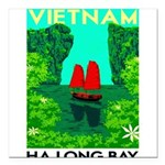 Ha Long Bay - Vietnam Print Square Car Magnet 3