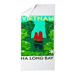 Ha Long Bay - Vietnam Print Beach Towel