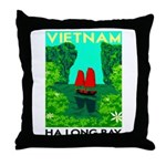 Ha Long Bay - Vietnam Print Throw Pillow