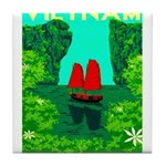 Ha Long Bay - Vietnam Print Tile Coaster