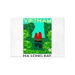 Ha Long Bay - Vietnam Print 5'x7'Area Rug