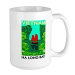 Ha Long Bay - Vietnam Print Mugs