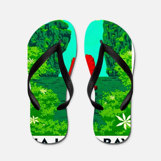 Ha Long Bay - Vietnam Print Flip Flops