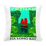 Ha Long Bay - Vietnam Print Everyday Pillow