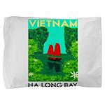 Ha Long Bay - Vietnam Print Pillow Sham