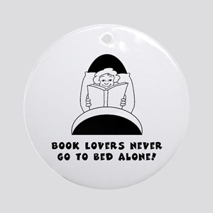 Book Lovers Bed-Female<br> Keepsake (Round)