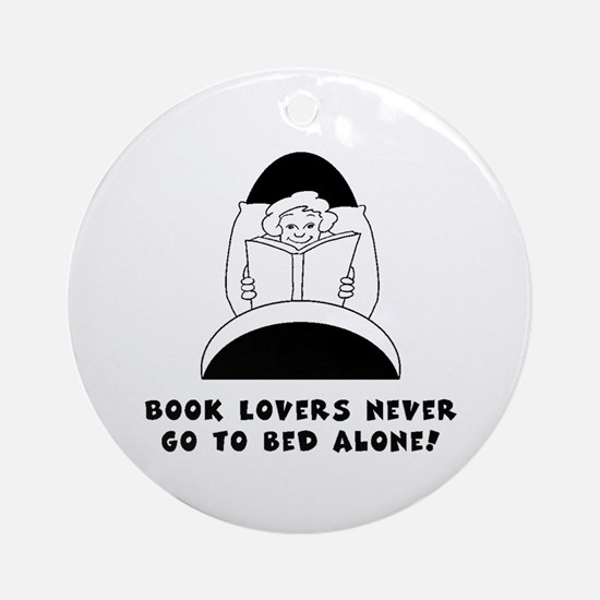 Book Lovers Bed-Female<br> Keepsake (Round)