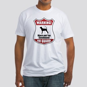 Black and Tan On Guard Fitted T-Shirt